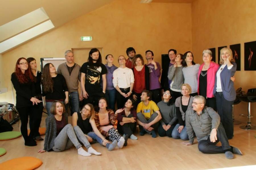 poza de grup estonia