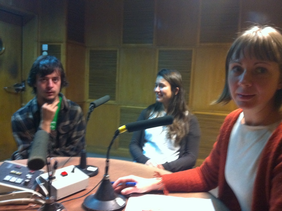 interviu radio romania international Clement si Marie Liesse 17 nov 2014 (1)
