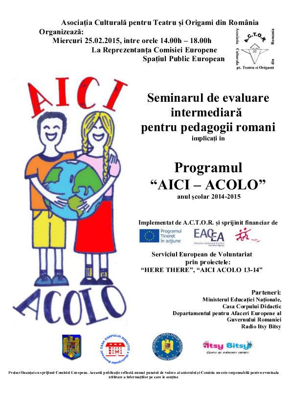 afis seminar AA de evaluare intermediara HT si AA 13-14 25.02.15